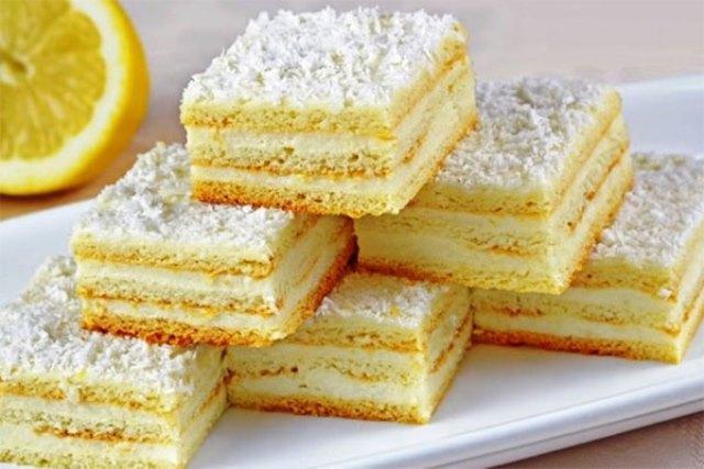 Нежнейший и вкуснейший лимонный пирог — объедение! Шедевр!