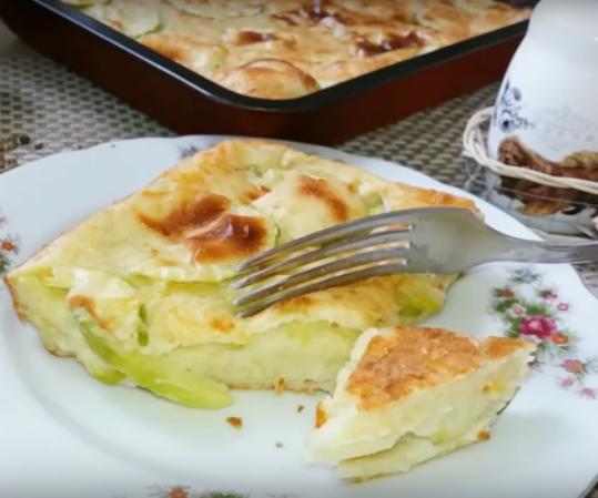 Новая запеканка из кабачков — так вы еще не готовили